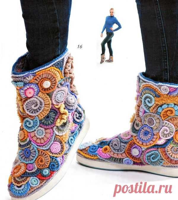 Ах, какая обувь.