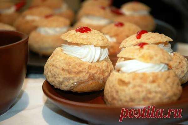 Знаменитые пирожные «Шу» | Идеи рецептов | Яндекс Дзен