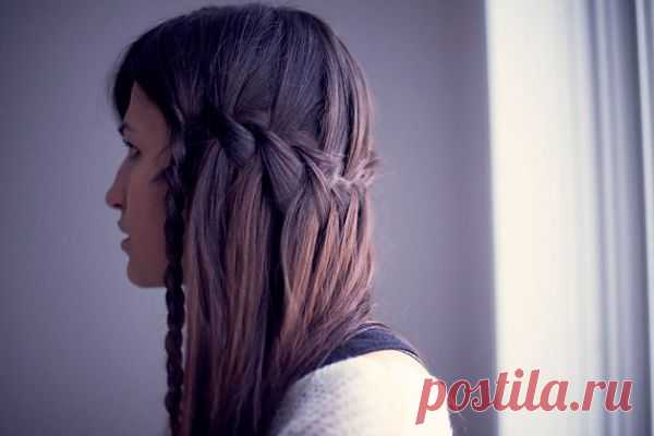 Оригинальная прическа с косами (DIY) / Прически / Модный сайт о стильной переделке одежды и интерьера