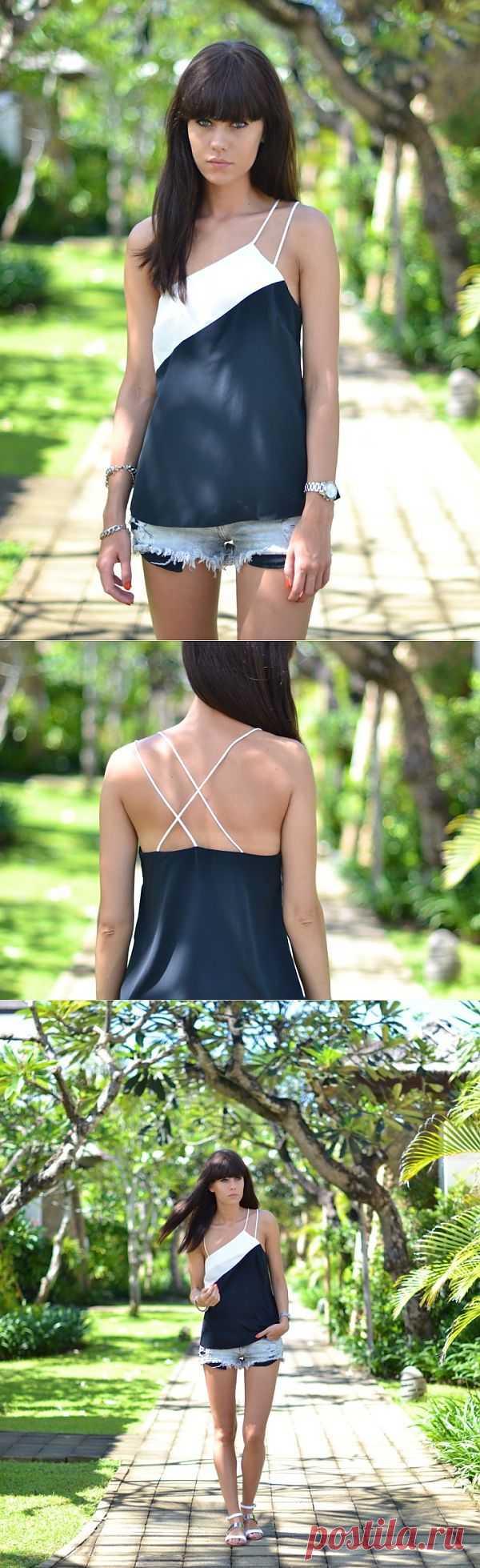 Асимметрия / Блузки / Модный сайт о стильной переделке одежды и интерьера