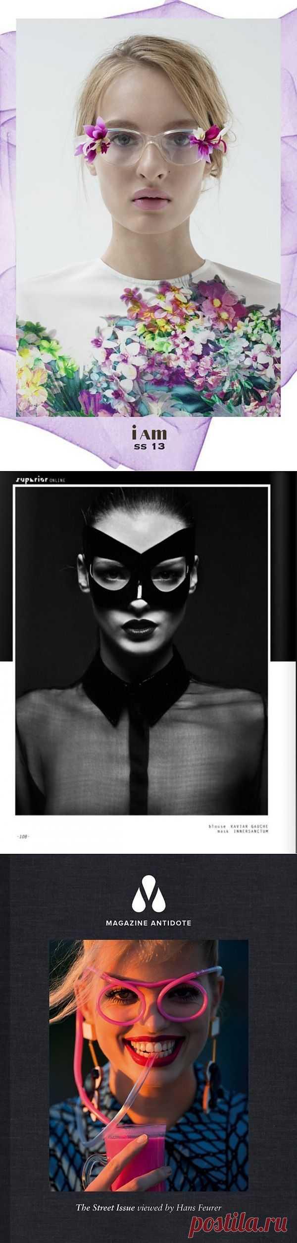 Чудаковатые очки (подборка) / Декор очков / Модный сайт о стильной переделке одежды и интерьера