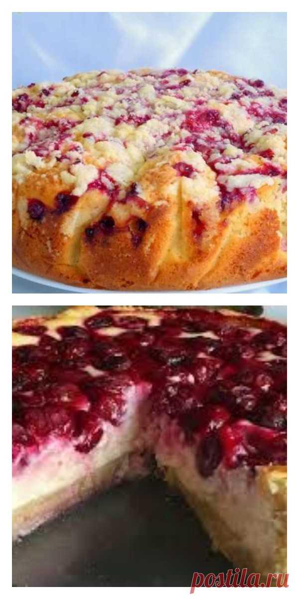 Фруктово-ягодный пирог. Причем ягоды и фрукты я кладу любые! - lucheedlavas.ru