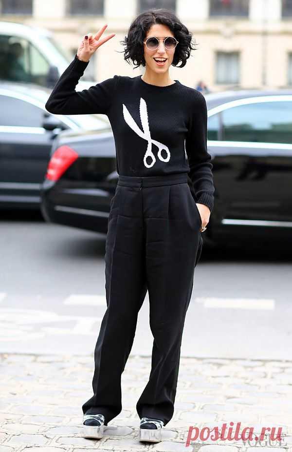Интересности с Paris Fashion Week F2013 / Рисунки и надписи / Модный сайт о стильной переделке одежды и интерьера