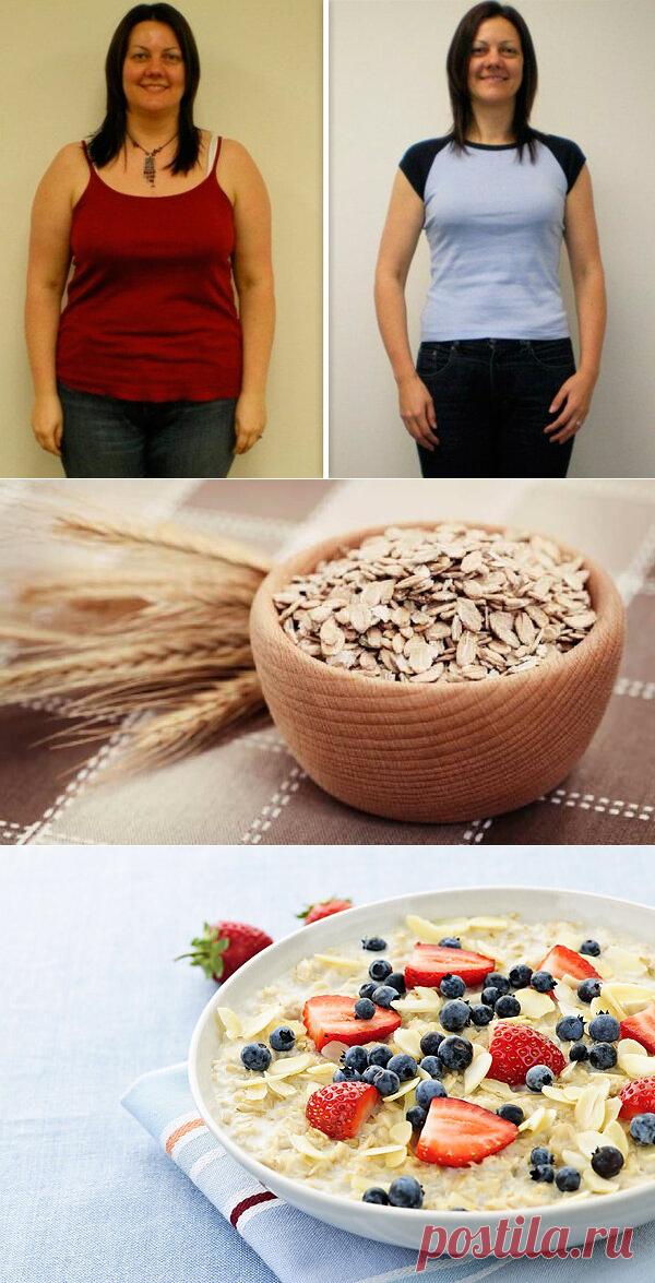 овсяное меню для похудения