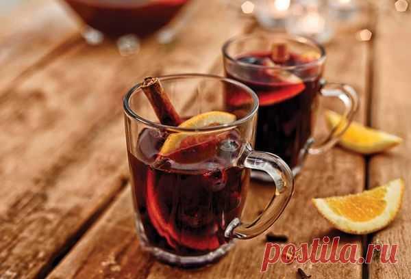 Как приготовить безалкогольный глинтвейн в домашних условиях на соке, чае, свежих фруктах?