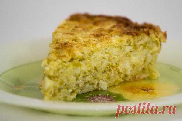 Baked puddings: Vegetable marrows casserole