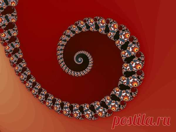 Fractal Spiral  Free Stock Photo HD - Public Domain Pictures