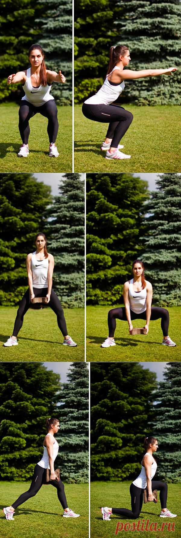 (+1) - Фитнес-инструкция: упражнение для ягодиц | БУДЬ В ФОРМЕ!
