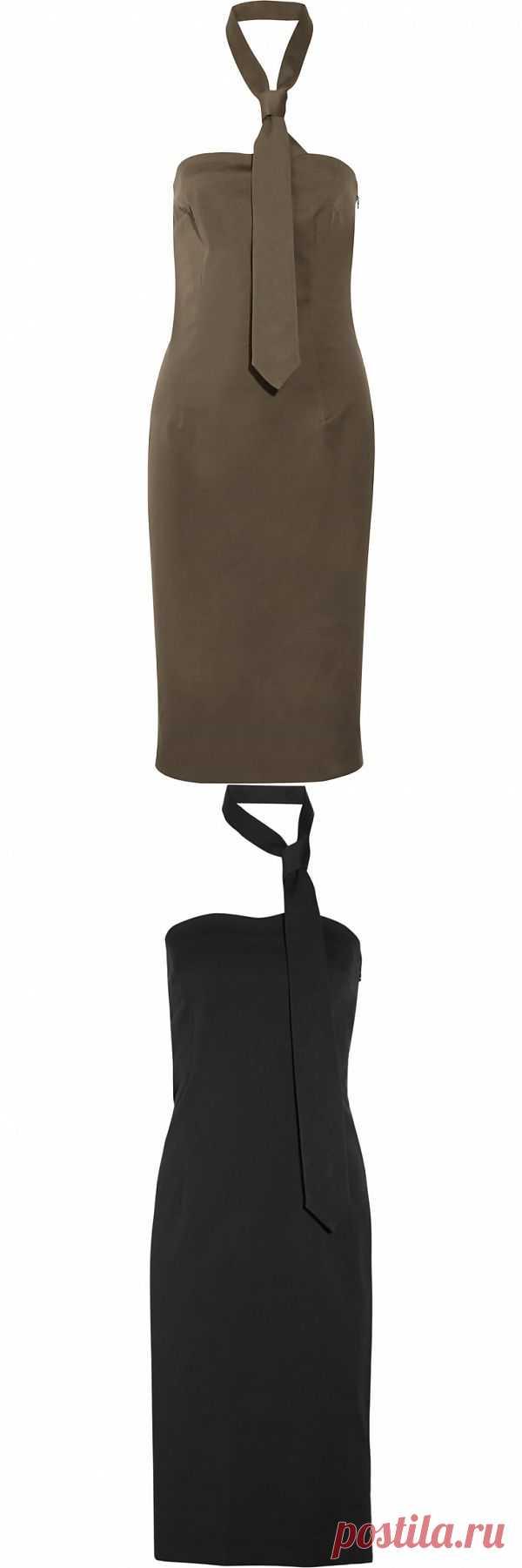 Платье+галстук МММ / Вещь / Модный сайт о стильной переделке одежды и интерьера