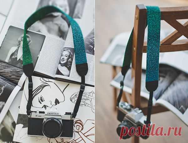 Ремень для фотоаппарата- реклама только себя (DIY) / Ремни / Модный сайт о стильной переделке одежды и интерьера