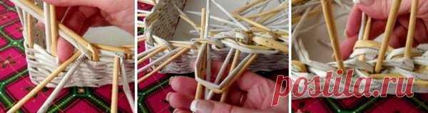 Корзинка на Пасху из газетных трубочек своими руками | 33 Поделки | Яндекс Дзен