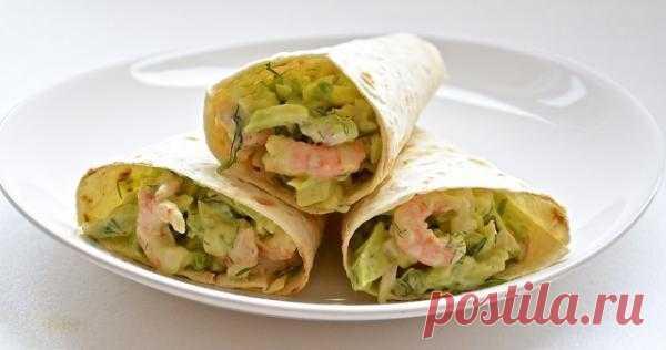 Мексиканский салат.