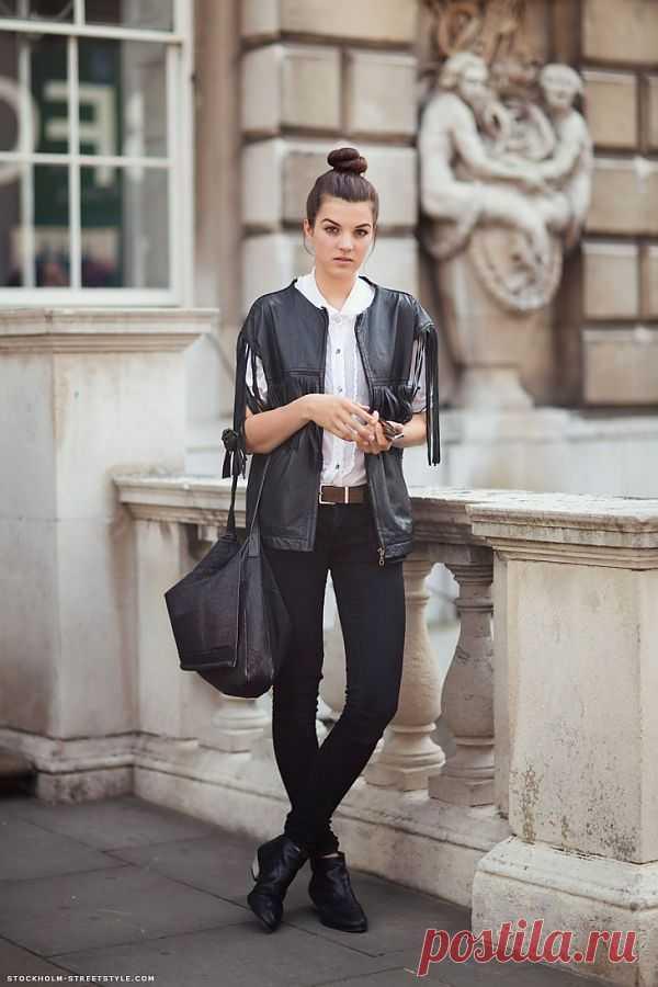 Бахрома вместо рукавов... / Street Style / Модный сайт о стильной переделке одежды и интерьера