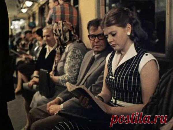 Московское метро... Какой фильм? Какие это годы?
