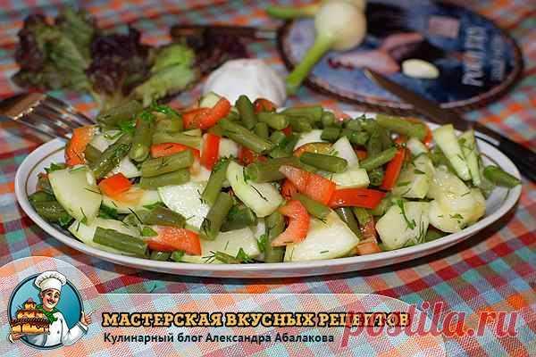 салат из сырых кабачков для похудения