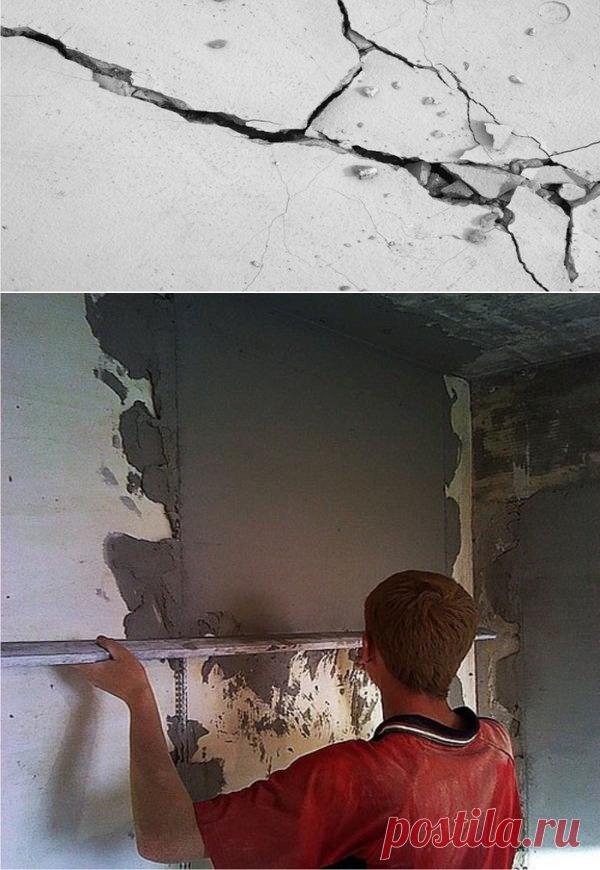 штукатурка стен с помощью маяков