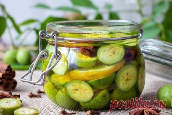 Чудодейственный бальзам из зеленых орехов поставит на ноги даже при очень сложных болезнях! — СОВЕТ !!!