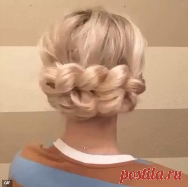 Quick romantic hairdress \ud83d\ude0d\ud83d\udc71♀️