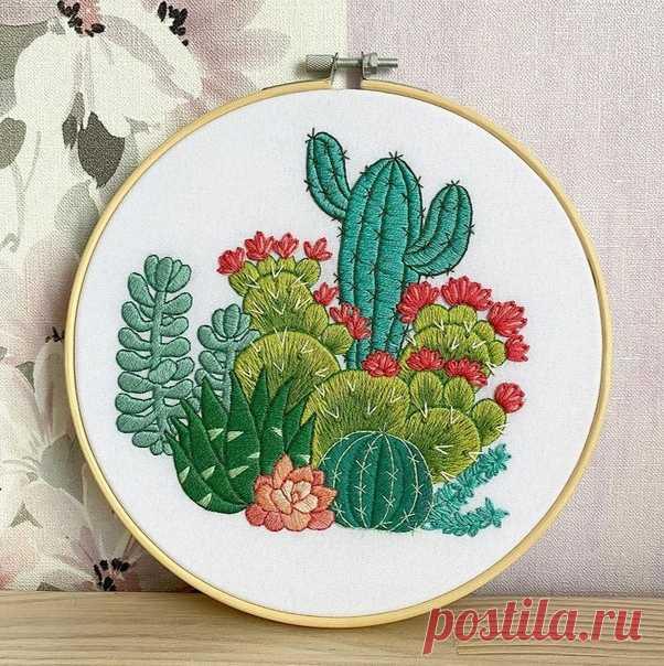 Вышивка от embroideryartbynat