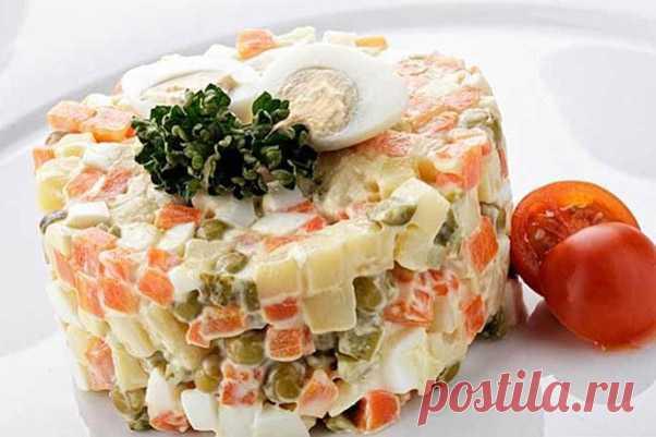 Лучшие рецепты приготовления салата «Столичного»