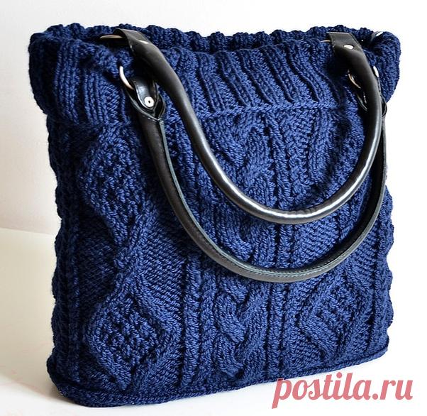 вязаные сумки эфария две модели вязаных сумок вязание постила