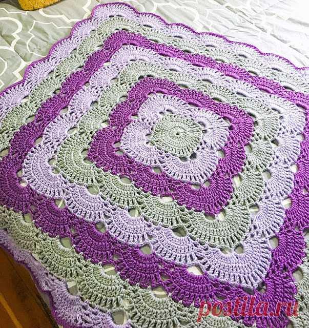 Кухня серо-фиолетового цвета