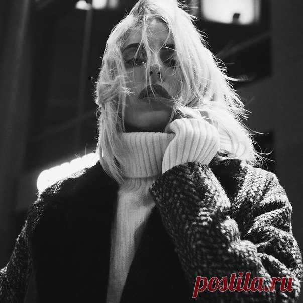 Блогер Катя Царская в пальто и свитере из осенней коллекции H&M! #HMFavourites