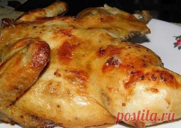 «Улетная» курица по особому рецепту — гости в восторге   Сочная и безумно вкусная!     Ингредиенты: курица,йогурт натуральный — 200 г,соевый соус — 2 ст.л.,лимон — 1,5 шт.,горчица зернистая — 1 ст.л.,вода — 1-1,5 литра,соль — 3-4 ст.л.,перец,специи/мускат…