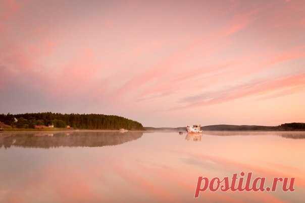 Белые ночи на Белом море. Автор фото — Станислав Двитриев: