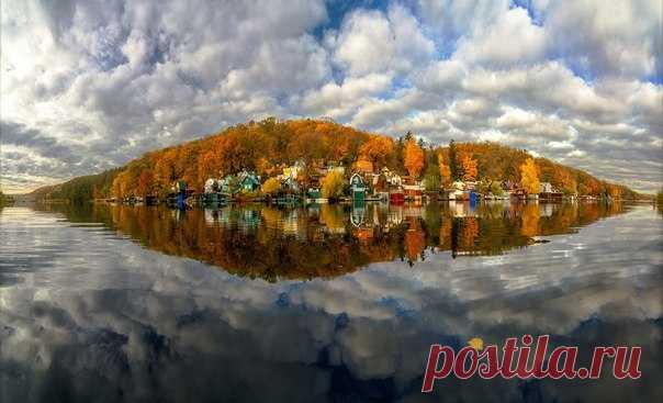 Рыбачий поселок, Воронежская область. Автор фото – Тимур Подколзин.