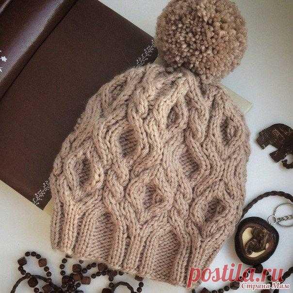 Вяжем зимнюю шапочку