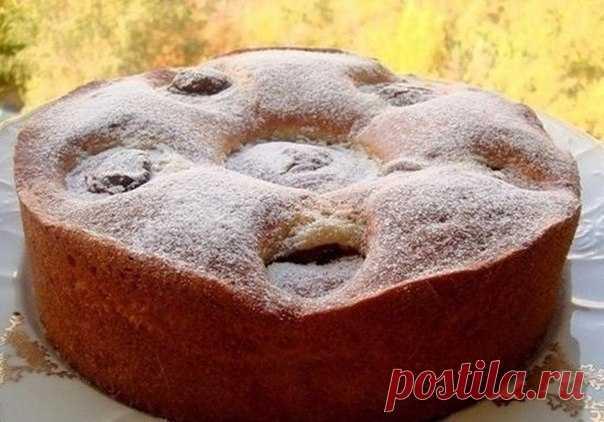 Пирог Яблочки с шоколадом / Интересное в IT
