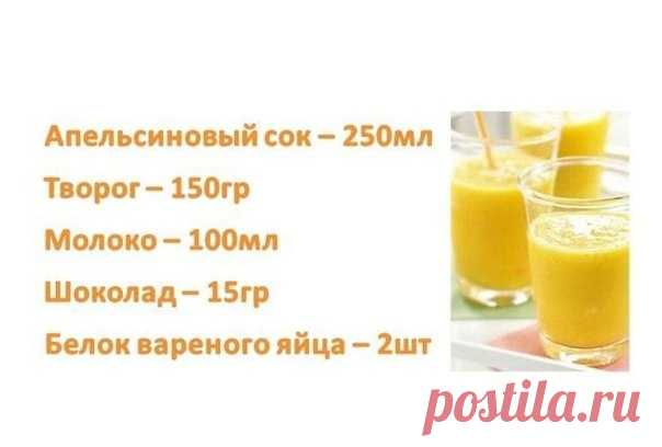 How to make protein cocktails in house conditions