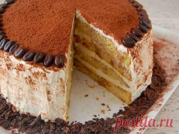 Las mejores recetas de cocina: la Torta de Tiramisu