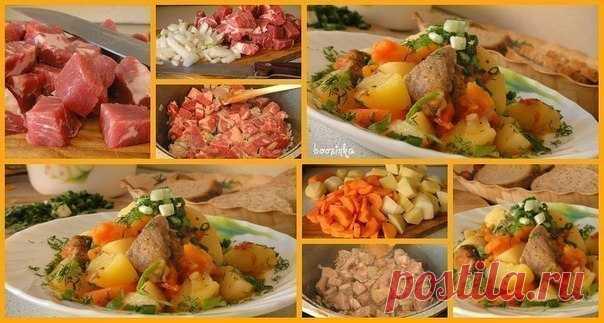 Жаркое с мясом — универсальное блюдо для любого повода!