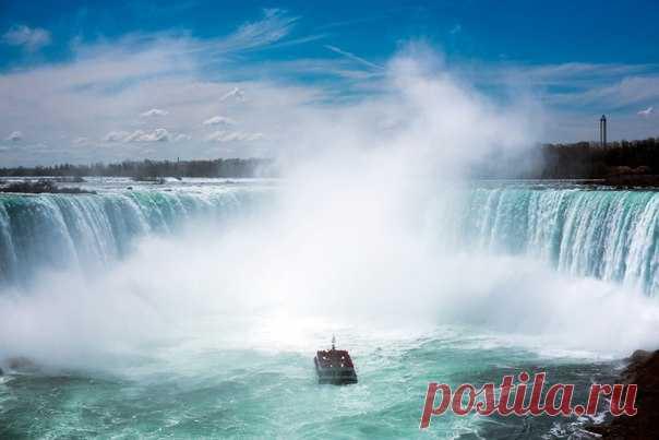 Ниагарский водопад. Снимок из альбома Tatiana Borzdaia: nat-geo.ru/photo/user/299949