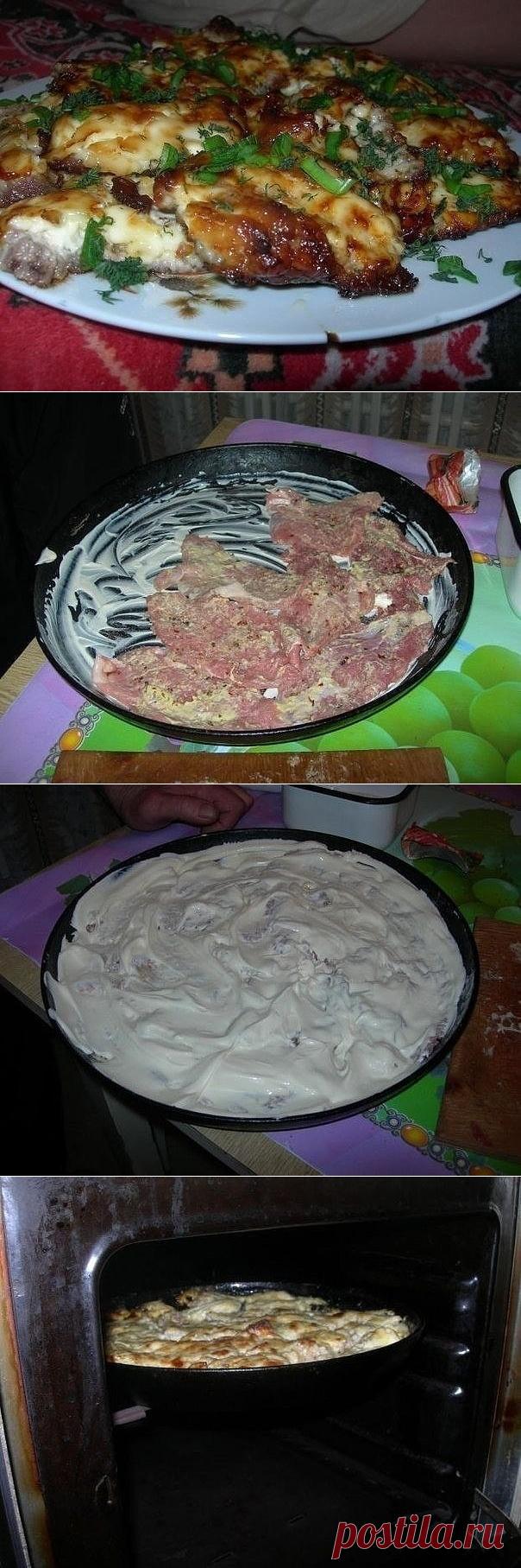 Как приготовить мясо - вкусно и просто  - рецепт, ингредиенты и фотографии