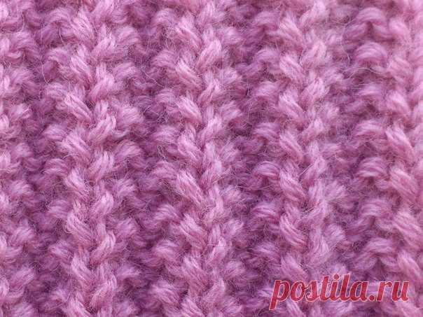 французская резинка используется при вязании одежды шапок шарфов