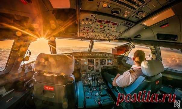 La elección de las fotografías hechas por los pilotos de las cabinas de los aviones - Viajamos juntos
