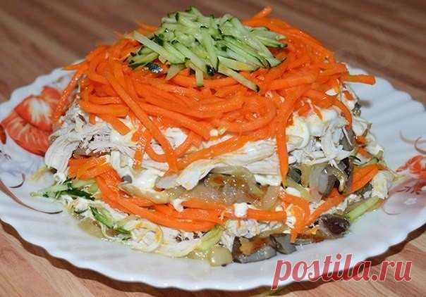 Просто,быстро,вкусно, салат «Восторг»   Эфария