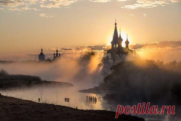 Рассвет в Дунилове. Снимала Татьяна Белякова: nat-geo.ru/community/user/47369 Доброе утро!