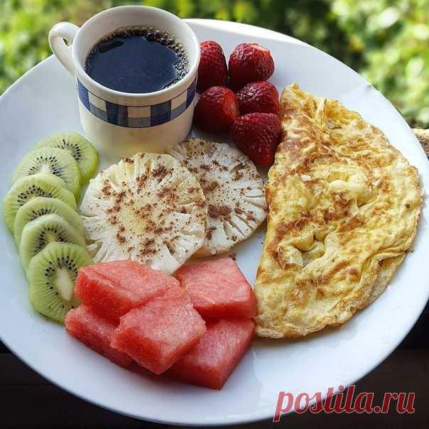 Пусть утро будет вкусным! #КатушкаИдей #ДоброеУтро