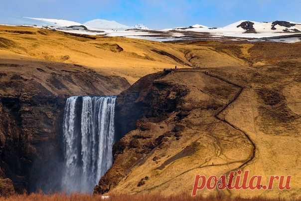 Исландские водопады в объективе Милы Бырко (nat-geo.ru/photo/user/50287)