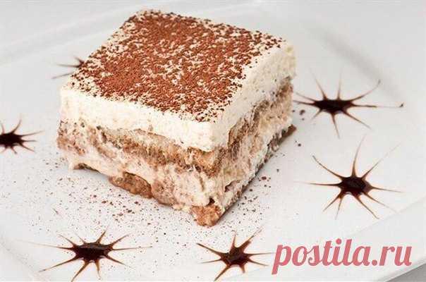 ПП-десерт: низкокалорийный тирамису! На 100 грамм всего 100.15 ккал!