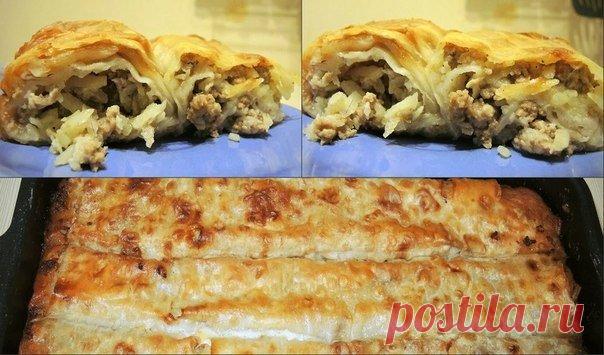 Ленивый бёрек (привет из Турции) — приготовите раз и будете готовить постоянно!