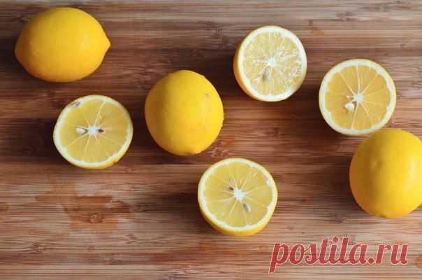 Применение лимона