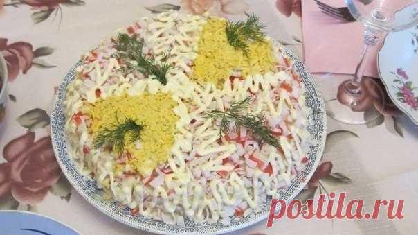 Салат из крабовых палочек: секрет в приготовлении соуса