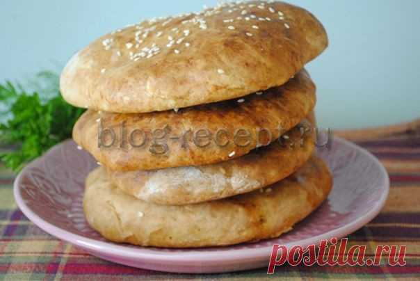 Лепешки на кефире в духовке: рецепт с фото