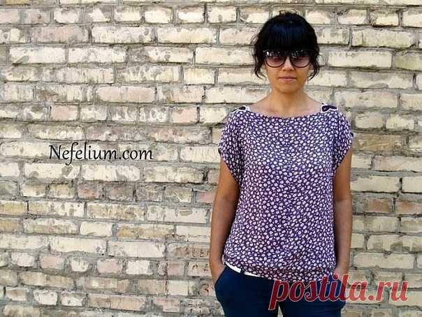 Оригинальная и очень простая идея для летнего наряда (Шитье и крой) — Журнал Вдохновение Рукодельницы