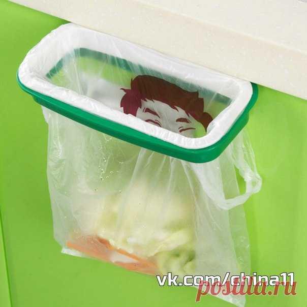 Полезные штуки  Подвесная мусорка  http://ali.pub/2j1exu 136,71 руб